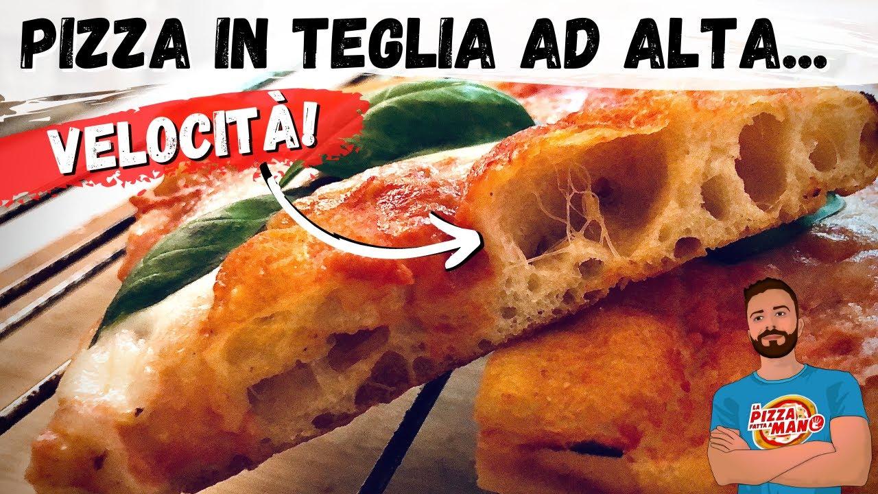 Ricetta Impasto Pizza Digeribile.La Pizza In Teglia Digeribile Piu Veloce Di Sempre Pronta In 4 Ore Ricetta Completa Youtube