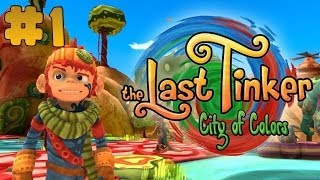The Last Tinker: City of Colors - Walkthrough - Part 1 (PC) [HD]