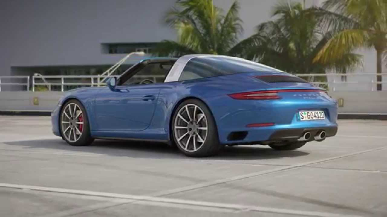 new porsche 911 targa 4s 2016 youtube. Black Bedroom Furniture Sets. Home Design Ideas