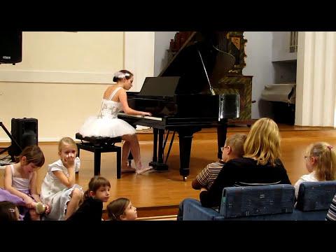 Swan Lake Theme piano version (+ music sheet)