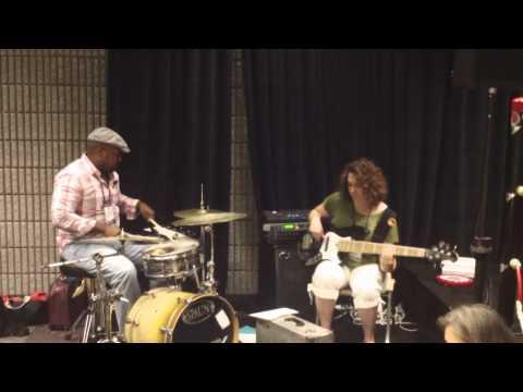 Summer NAMM 2011  Derek Phillips and Alana Rocklin