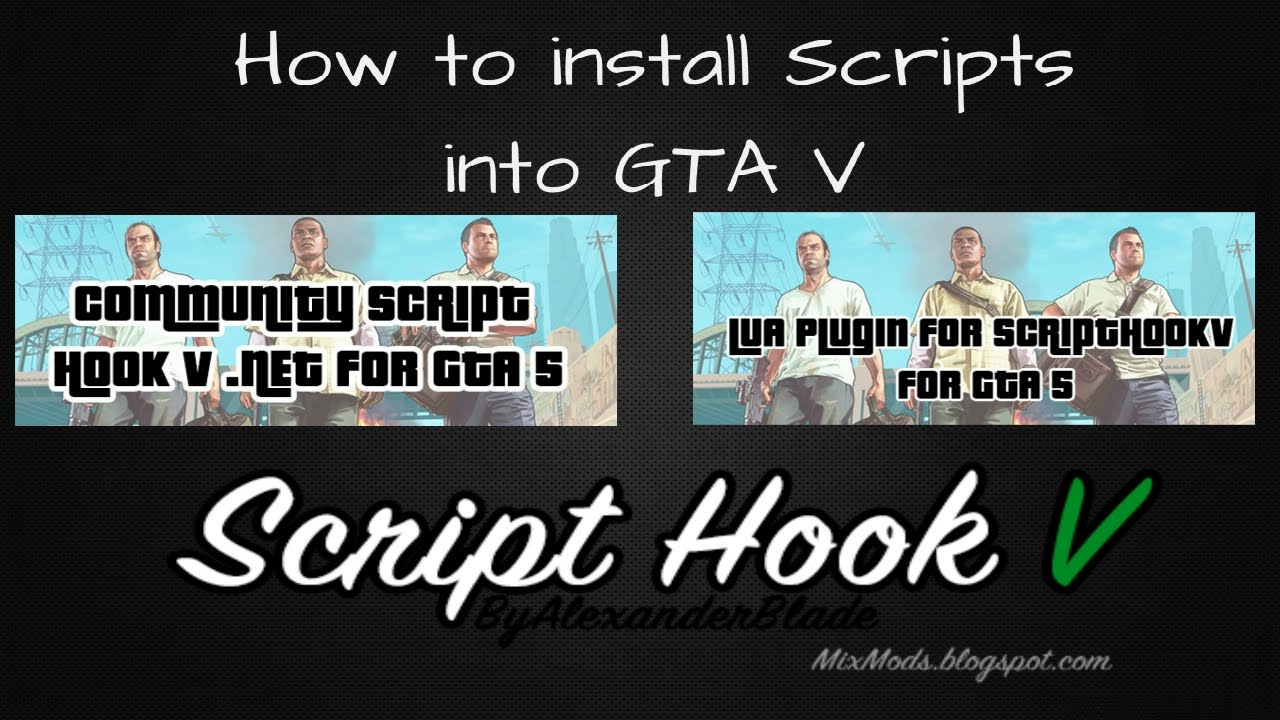 How to install scripts