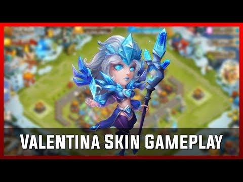 Valentina Skin Gameplay   Castle Clash [Deutsch]