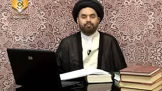Lecture 9 (Nijasaat) Jau Ki Sharaab by Maulana Syed Shahryar Raza Abidi.