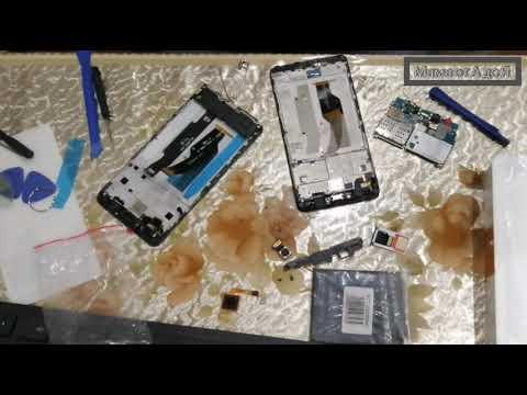Замена дисплейного модуля в сборе с рамкой и тачскрином Redmi Note 4