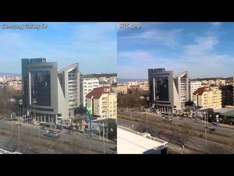 HTC One vs. Samsung Galaxy S4 stabilization test