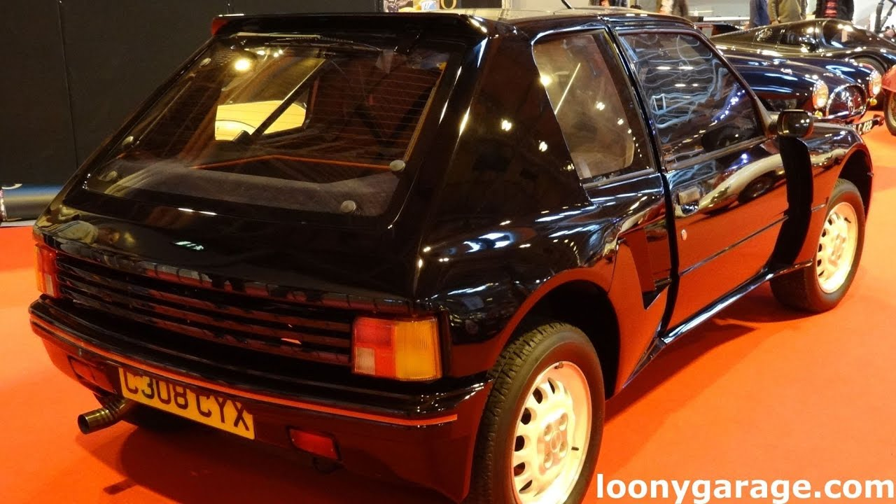 peugeot 205 t16 turbo 16 youtube. Black Bedroom Furniture Sets. Home Design Ideas