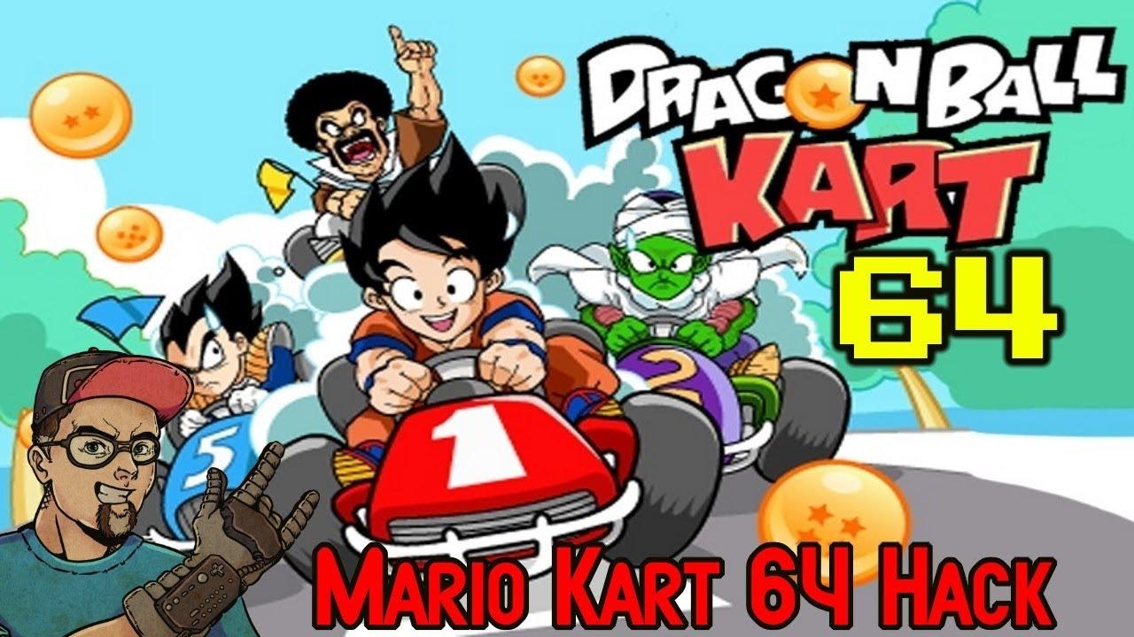 Dragon Ball Kart 64 NIntendo Mario Kart 64 Rom Hack