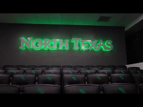 Advent: University of North Texas Mean Green