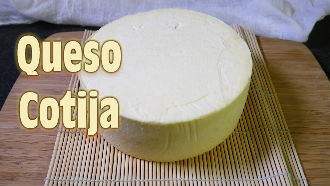 How to make Queso Cotija - YouTube
