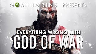 Everything Wrong With God of War (2018) in 13 Minutes or Less   GamingSins