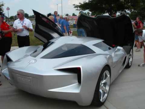 Corvette Stingray Concept Car Driving At The Ncm Youtube