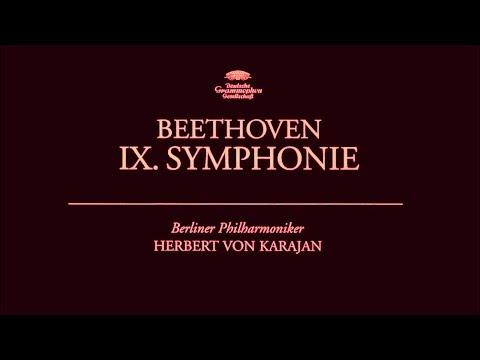 Ludwig van Beethoven  Symphony No 9  Herbert von Karajan