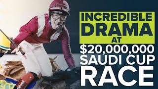 INCREDIBLE DRAMA FROM THE $20m SAUDI CUP | THE SAUDI CUP 2021