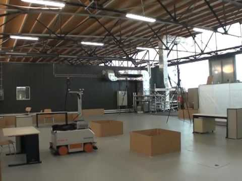 High precision robot positioning with laser scan matching - long-term experiment