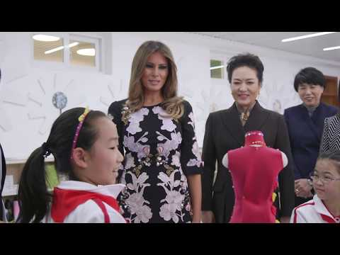 First Lady Melania Trump Visits China