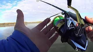 Наконец то РЫБА Рыбалка на МАНДУЛУ осенью на водохранилище