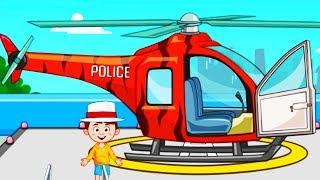 Играем в ТОРГОВЫЙ ЦЕНТР MY TOWN POLICE#4 Приключение ДЕТЕЙ МАШИНА ВЕРТОЛЕТ Мультик игра для детей