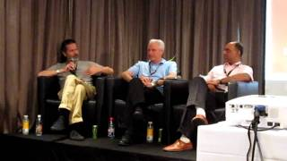 One Movement Independent Times panel - Simon Wheeler on servicing music blogs with free mp3s