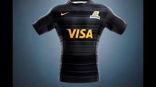 La nueva camiseta de Jaguares #PersonalSuperRugby 2018