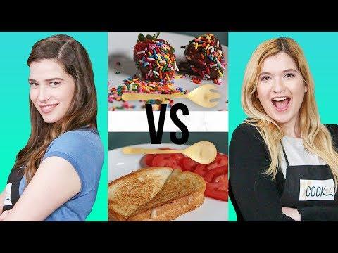 GOURMET GRILLED CHEESE CHALLENGE?! | COOK THAT w/ Marissa Rachel & Shanna Lisa