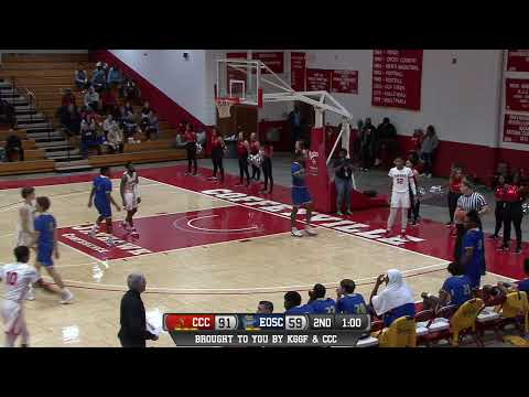 Men's Basketball CCC vs Eastern Oklahoma State College