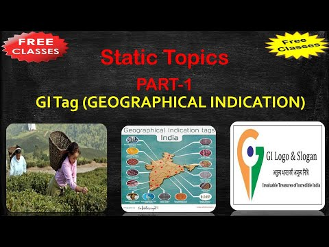 What is GI Tag? Top 18 GI Tags in News | GI Tags Detail Study in Hindi, By Nrverma #Nrverma