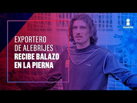 Disparan en la pierna al exportero de Alebrijes, Alejandro Vences | Noticias con Francisco Zea