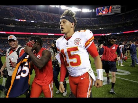 Patrick Mahomes leads Chiefs past 10 point 4th quarter deficit to beat the Broncos! MNF W4 2018