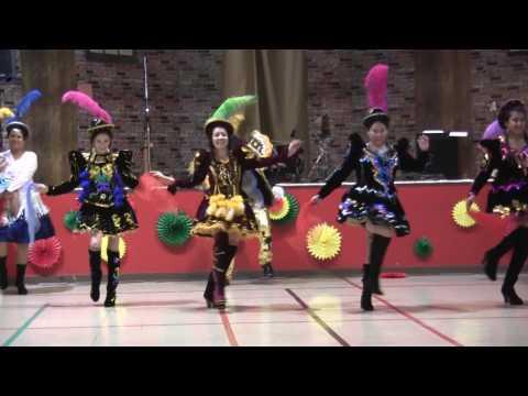 Bolivia group dance 2017