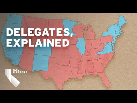 How California counts delegates, explained