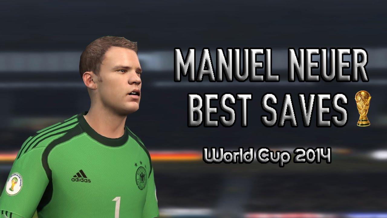 Manuel Neuer - Best Saves in 2014 World Cup (FIFA 14 Edit ...  Manuel Neuer - ...