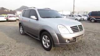 Korean Used Car - 2006 Ssangyong Rexton II AWD RX7 4WD AT [Autowini.com]