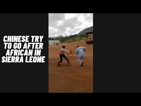 Breaking News! Chinese goes after African Man. Its time to rise and wakeup!