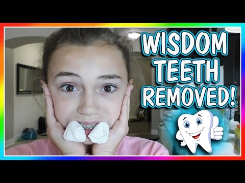 KAYLA GOT HER WISDOM TEETH REMOVED! | We Are The Davises