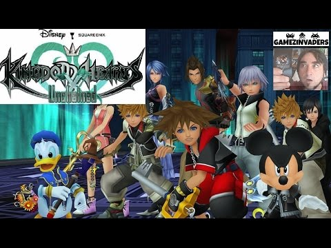 KINGDOM HEARTS X Unchained! Mobile/Tablet FREE RPG! Game Review First Look