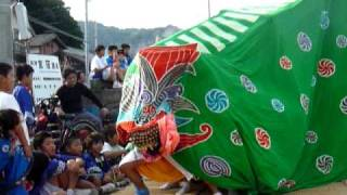 宮窪秋祭り2009 獅子舞①