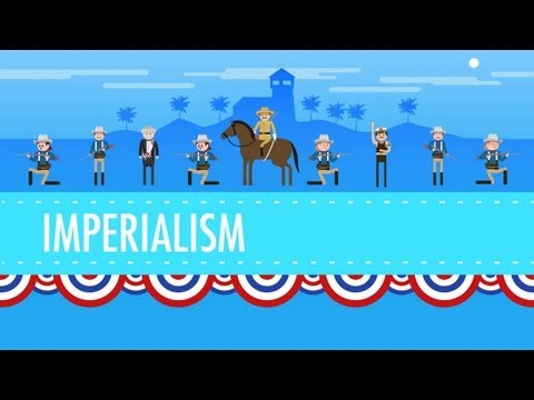 American Imperialism: Crash Course US History #28: In which John Green teaches you about Imperialism. In the late 19th century, the great powers of Europe were running around the world obtaining colonial possessions, especially in Africa and Asia. The United States, which as a young country was especially suceptible to peer pressure, followed along and snapped up some colonies of its own. The US saw that Spain's hold on its empire was weak, and like some kind of expansionist predator, it jumped into the Cuban War for Independence and turned it into the Spanish-Cuban-Phillipino-American War, which usually just gets called the Spanish-American War. John will tell you how America turned this war into colonial possessions like Puerto Rico, The Philippines, and almost even got to keep Cuba. The US was busy in the Pacific as well, wresting control of Hawaii from the Hawaiians. All this and more in a globe-trotting, oppressing episode of Crash Course US History.  Our Subbable Dooblydoo message today is from James Williams. He writes,
