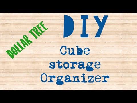 Dollar Tree DIY Storage Organizer