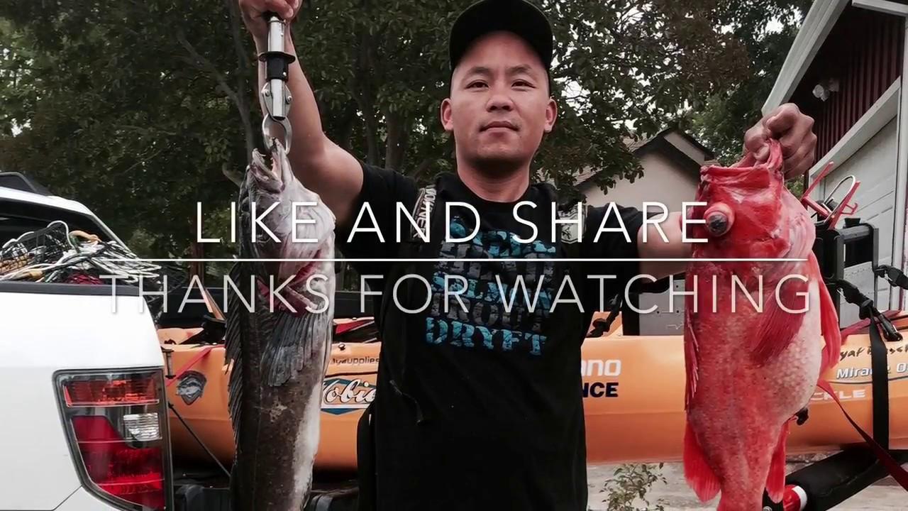 Nor cal kayak fishing hobie kayak adventures youtube for Youtube kayak fishing