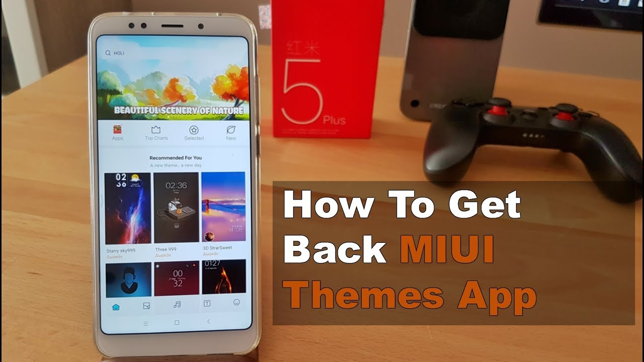 MIUI Themes App Missing - How To Get Back | Solution! [Eng Subs]