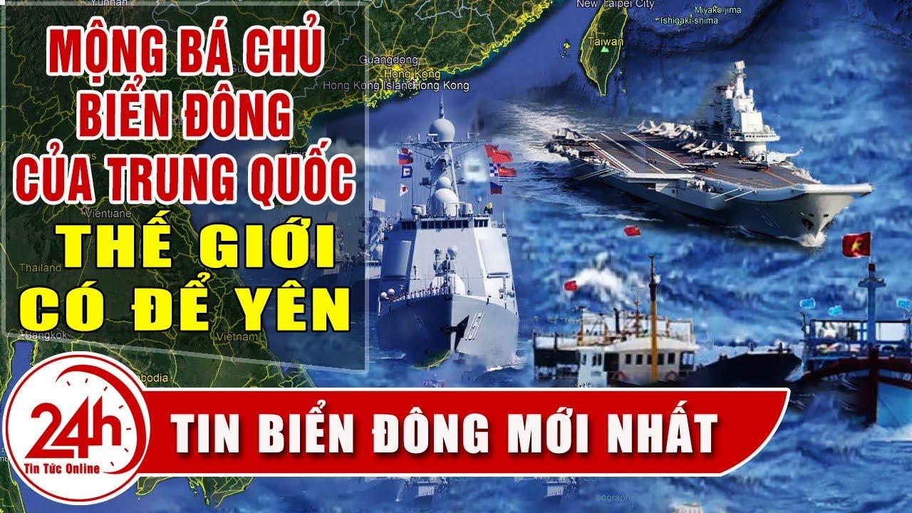 Biển Đông dậy sóng vì sự thách thức bá chủ của Trung Quốc, Đối Đầu Mỹ Trung sẽ đến đâu.Tin Biển Đông