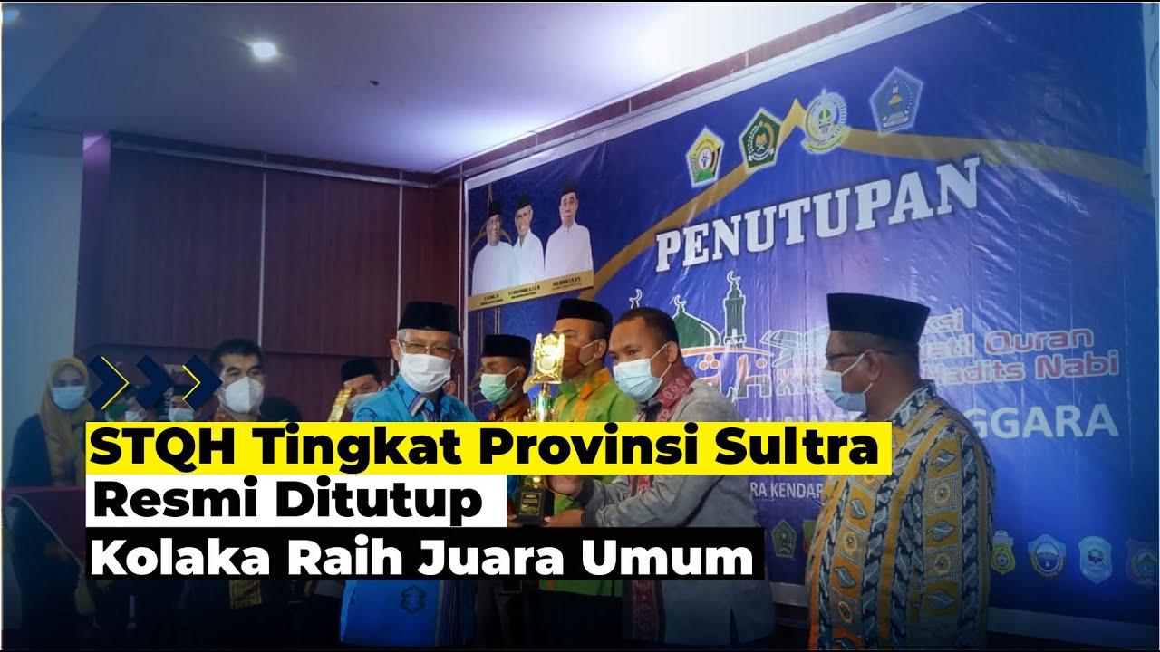 STQH Tingkat Provinsi Sultra Resmi Ditutup