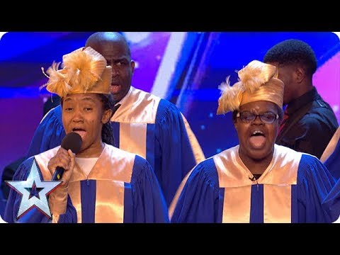 Oh Happy Day! Meet the uplifting DMU Gospel Choir | Auditions Week 1 | Britain's Got Talent 2018