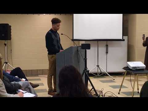 NAACP Youth Council president addresses Forest Hills school board