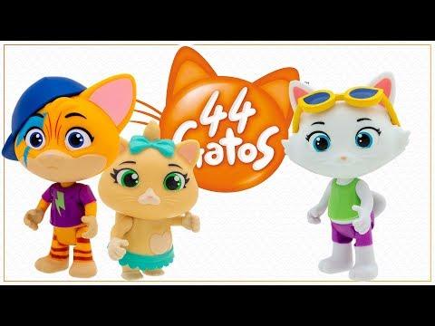 44 Gatos - Playset com Casinha + Figura (REF. 39489)