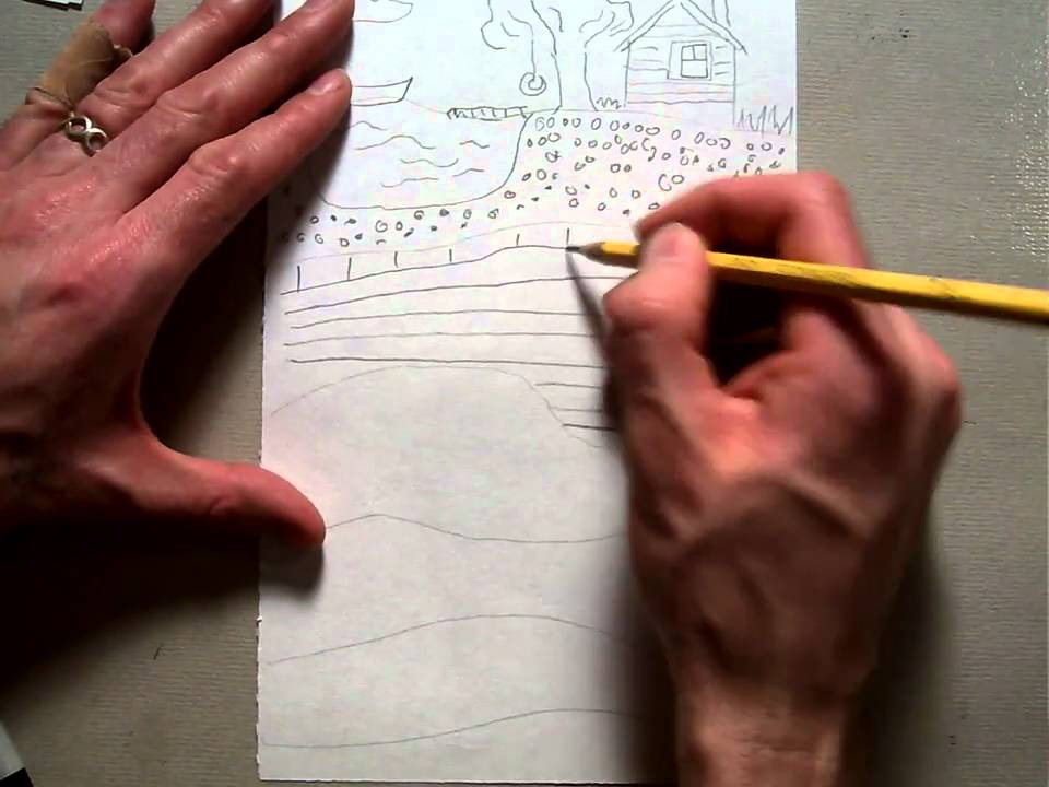 Earth Layer Drawing Intro And Pencil Mov Youtube