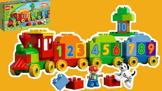 Lego Duplo Learn To Count Build The Numbers Train - 10558