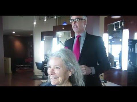 Дама пришла подровнять волосы, доверилась мастеру и получила шикарный результат