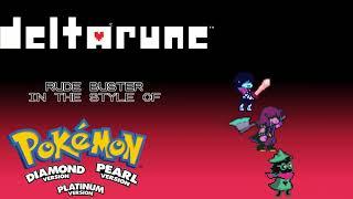 Download lagu Deltarune Ch.1 - Rude Buster (Pokémon D/P/Pt. Soundfont)